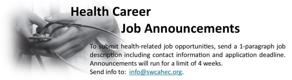 Health Career Announcement