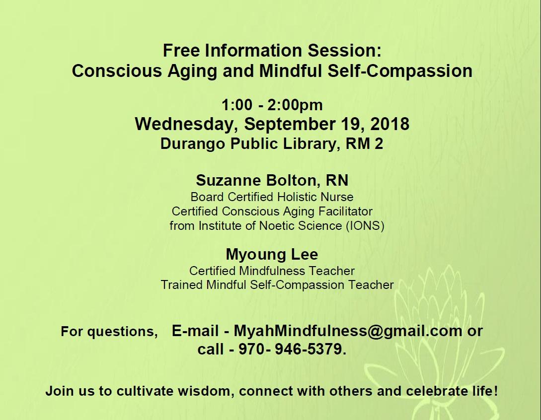 Sept 19-Conscious Aging 09192018