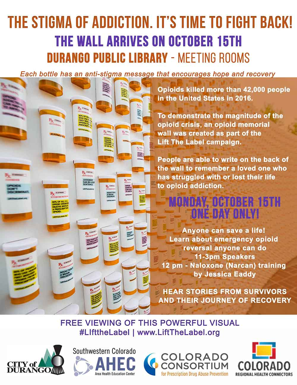 Opioid Memorial Flyer