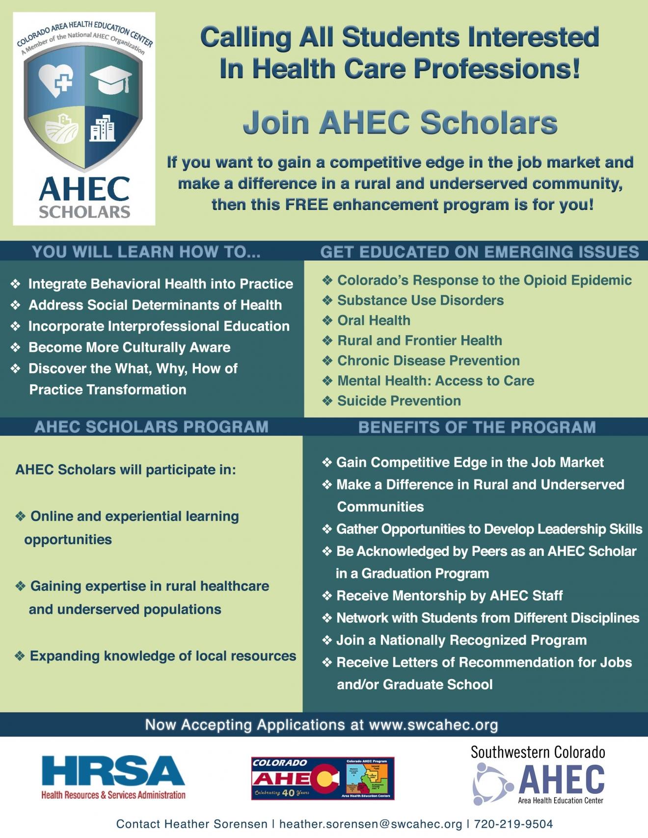 ahec-scholars-flyer-2019