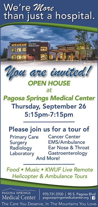 PSMC Open House Flyer