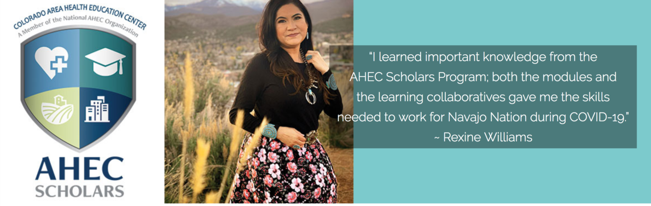 Ahec scholars banner with quote