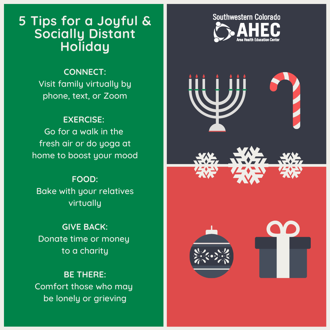5 Tips for a Socially Distant Holiday (Vs2)