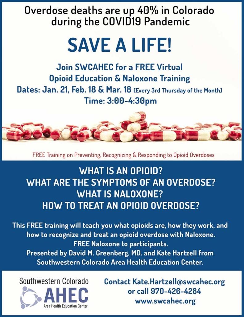 Opioid training Durango CO