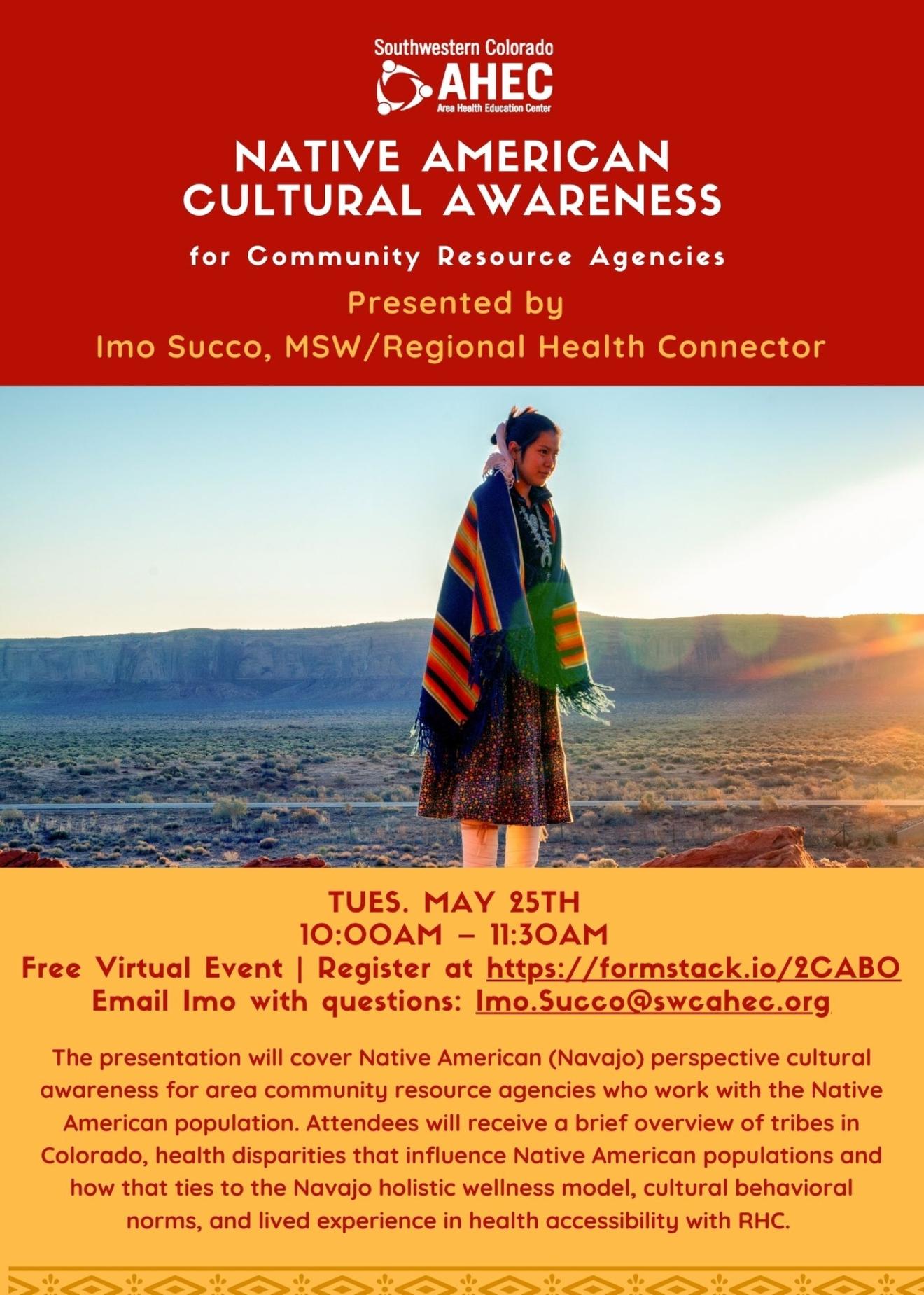Cultural Awareness flyer-community